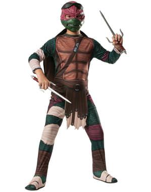 Костенурките на Рафаел Нинджа Филмов костюм за момче