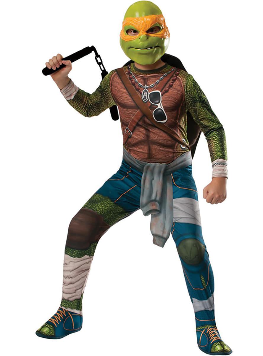 Costume de michelangelo tortues ninja movie pour enfant - Tortues ninja michelangelo ...