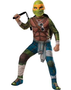Costume da Michelangelo Tartarughe Ninja Movie da bambino