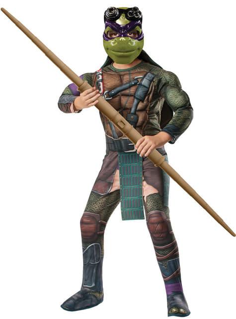 Disfraz de Donatello musculoso Tortugas Ninja Movie para niño