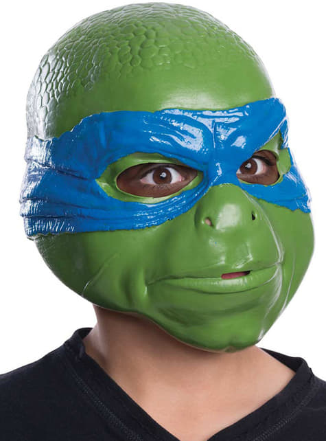 Máscara de Leonardo Tortugas Ninja infantil