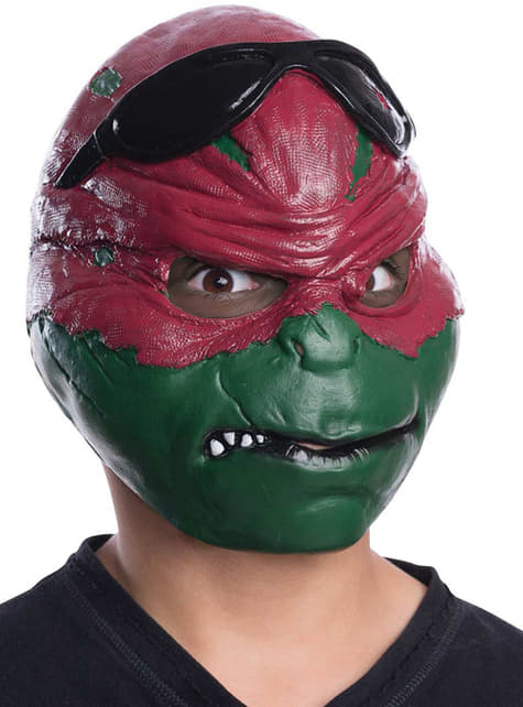 Máscara de Raphael Tortugas Ninja infantil
