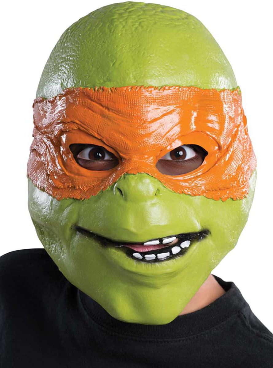Masque de michelangelo tortues ninja pour enfant pour - Tortue ninja michael angelo ...