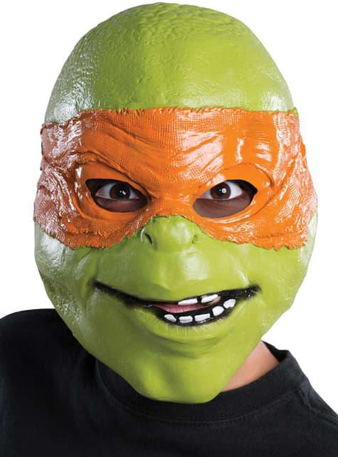 Maska korytnačky Michelangelo Ninja pre dieťa
