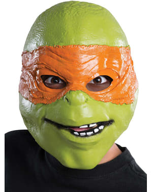 Maska Michael Angelo Ninja Turtles dla dzieci