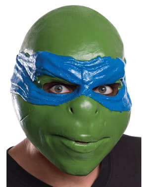 Máscara de Leonardo Tartarugas Ninja adulto