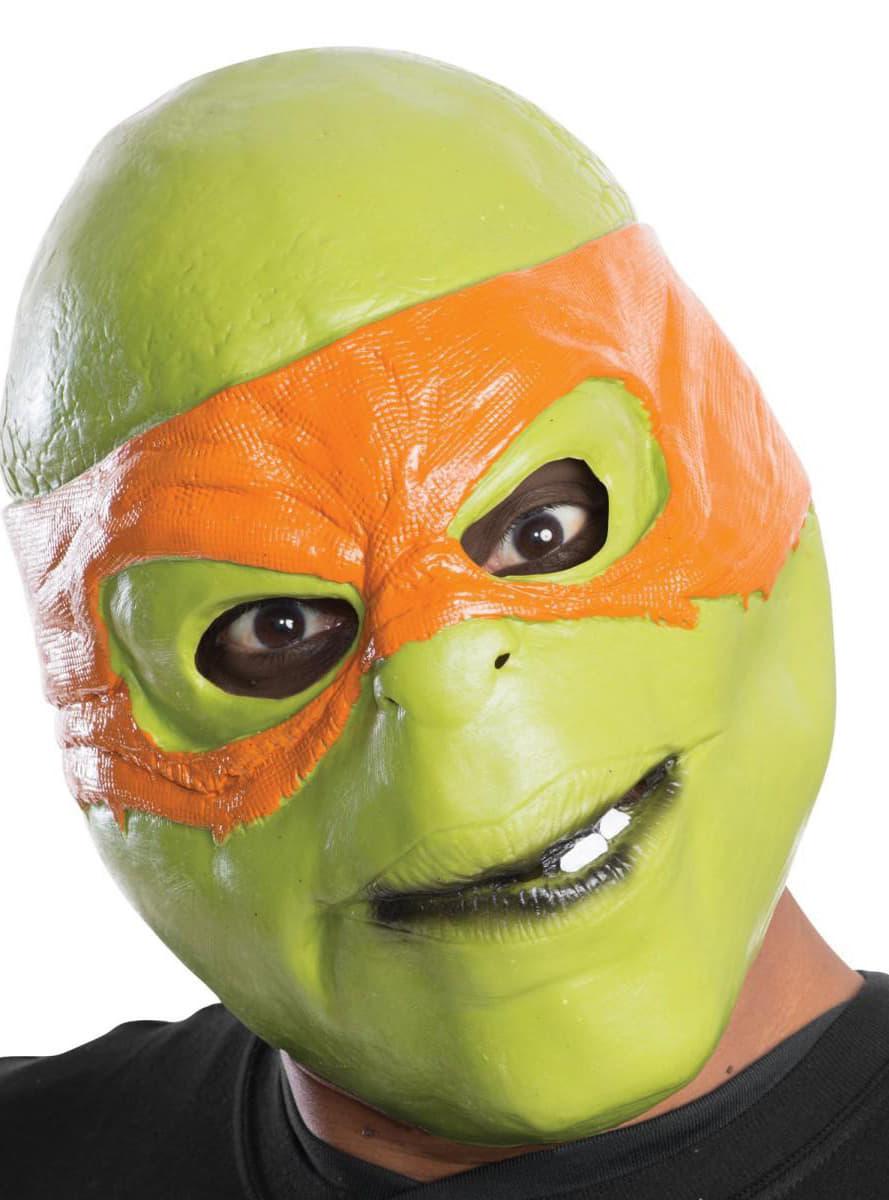 Masker michelangelo ninja turtles voor volwassenen - Tortue ninja michael angelo ...