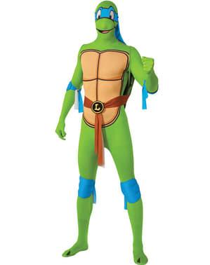 Disfraz de Leonardo Tortuga Ninja Segunda Piel