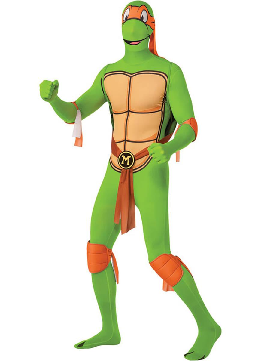 Disfraz de michelangelo tortuga ninja segunda piel funidelia - Tortues ninja michelangelo ...