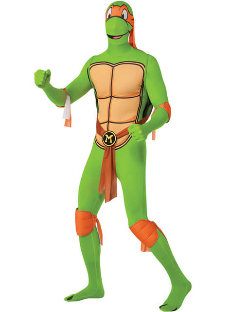 Michelangelo Ninja Turtles Second Skin Kostyme