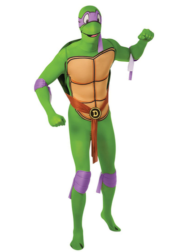 Costume de donatello tortues ninja seconde peau funidelia - Tortues ninja donatello ...