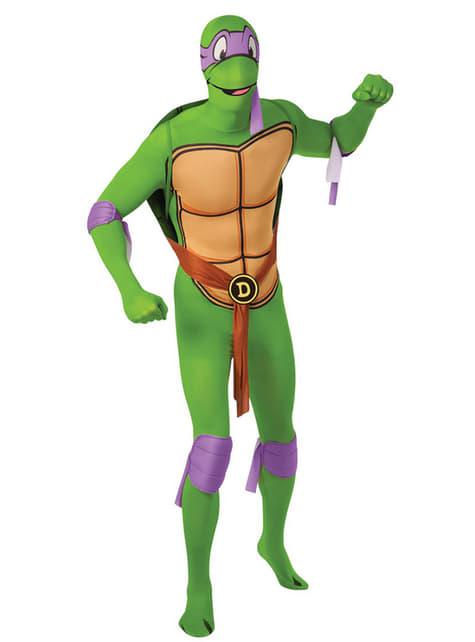 Fato de Donatello Tartarugas Ninja Segunda Pele