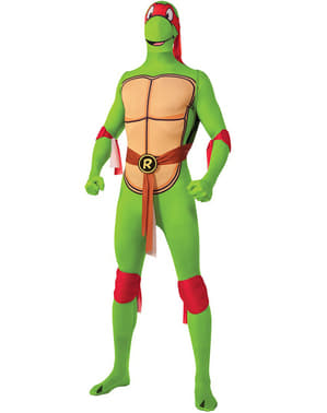 Kostium Raphael Żółwie Ninja Druga Skóra