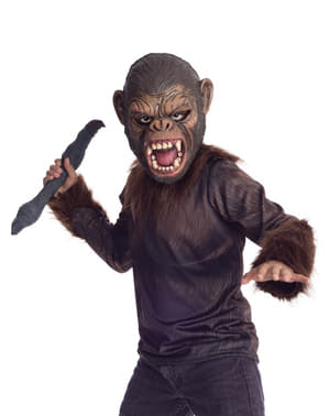 Costume da Cesare Il Pianeta delle Scimmie da bambino