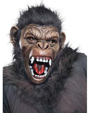 Máscara de Caesar Planeta dos Macacos de látex deluxe para adulto