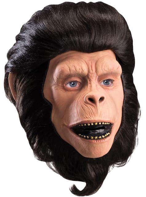 Máscara de Cornelius deluxe Planeta dos Macacos de látex para adulto