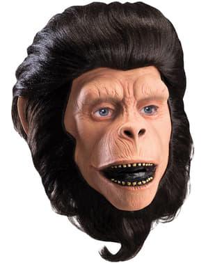 Maska Korneliusz Planeta Małp lateksowa deluxe dla dorosłych