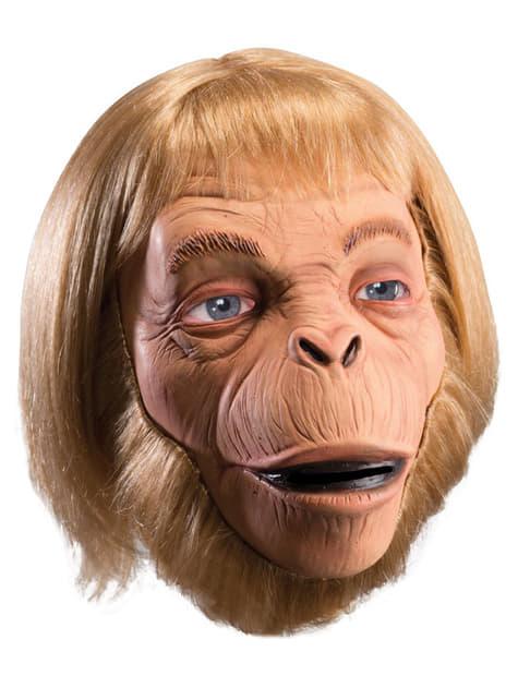 Máscara de Dr. Zaius deluxe El planeta de los simios de látex deluxe para adulto