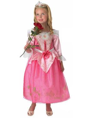 Aurora Kostüm Deluxe für Mädchen