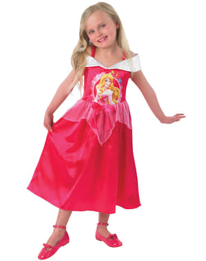 Aurora fairytale costume for a girl
