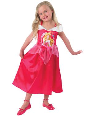 Disfraz de Aurora cuento para niña