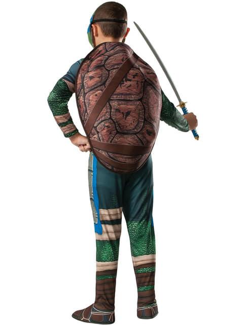 Disfraz de Leonardo musculoso Tortugas Ninja Movie para niño - infantil