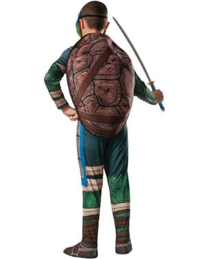 Leonardo från Ninja Turtles maskeraddräkt med muskler för pojkar