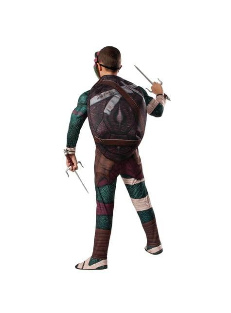 Gespierde Raphael Ninja Turtles movie Kostuum voor kinderen