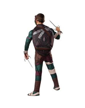 Kostium z mięśniami Raphael Ninja Turtles Movie dla chłopca
