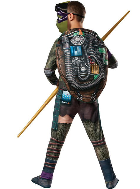 Fato de Donatello musculoso Tartarugas Ninja Filme para menino