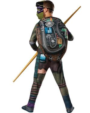 Donatello från Ninja Turtles maskeraddräkt med muskler för pojkar