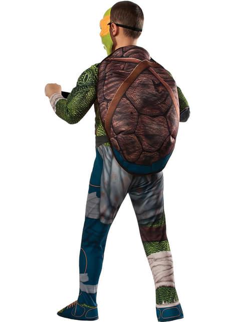 Disfraz de Michelangelo musculoso Tortugas Ninja Movie para niño - infantil