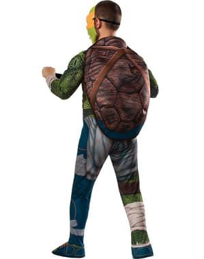 Michelangelo från Ninja Turtles maskeraddräkt med muskler för pojkar
