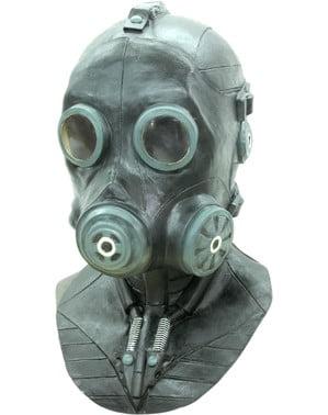 Smoke Gasmask Deluxe Mask