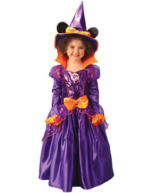 Dětský kostým myška Minnie jako čarodějka