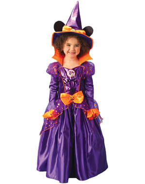 Platinasti Minnie Mouse Witch Child kostim
