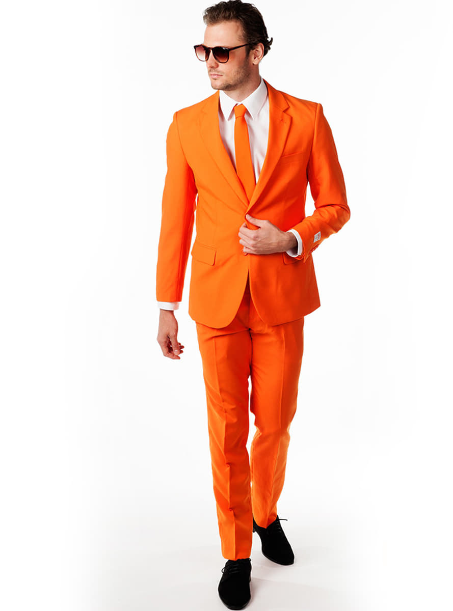 opposuit the orange anzug f r herren f r kost m funidelia. Black Bedroom Furniture Sets. Home Design Ideas