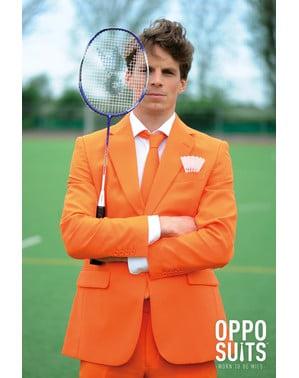 Oranger Anzug