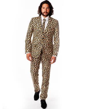 חליפה אלגנטית מנומרת לגברים