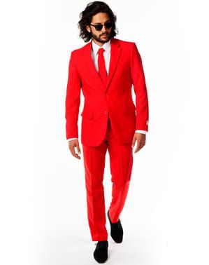 Odijelo crvenog vraga - suprotnosti