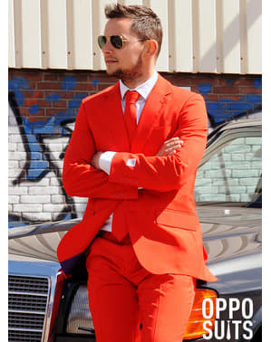 "Originálny oblek Opposuit ""Červený diabol"""