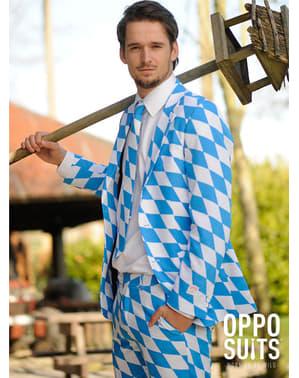 Смокінг Октоберфест із баварською символікою