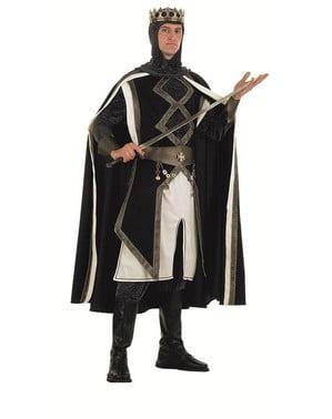 Costume da re delle crociate medievali