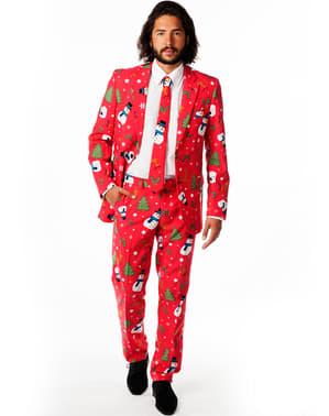 חליפה אלגנטית מצחיקה חג המולד