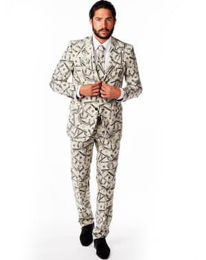 חליפה אלגנטית לגברים - הכל כסף
