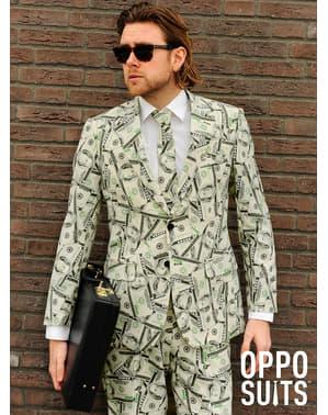 Костюм із зображеннями грошей