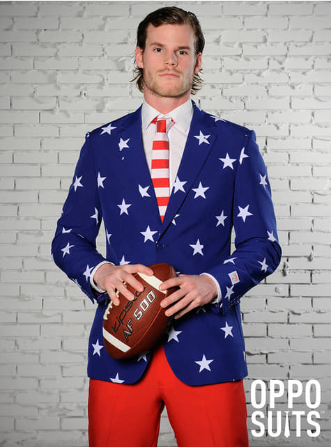 Traje Stars and Stripes Opposuit - hombre