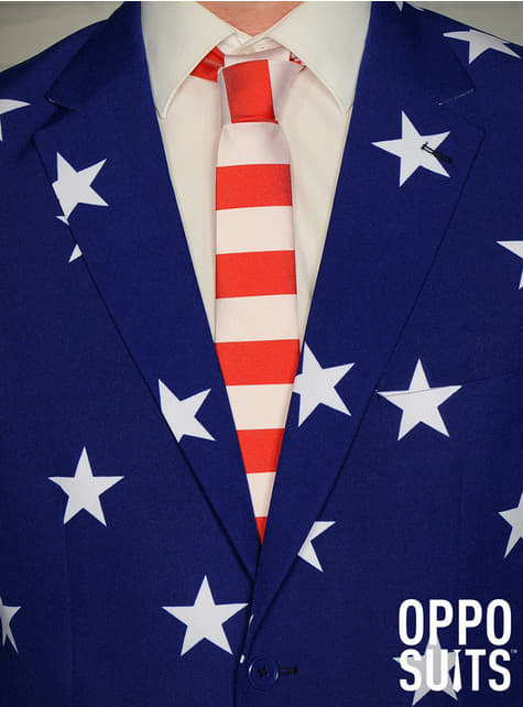 Traje Stars and Stripes Opposuit - Halloween
