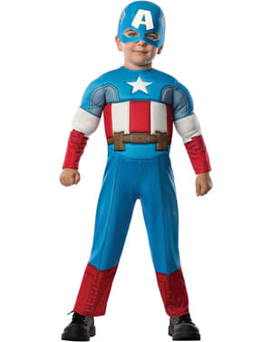 Captain America Avengers Assemble costume for a toddler