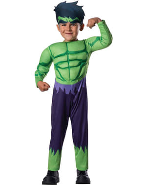 Hulk Avengers Assemble costume for a toddler